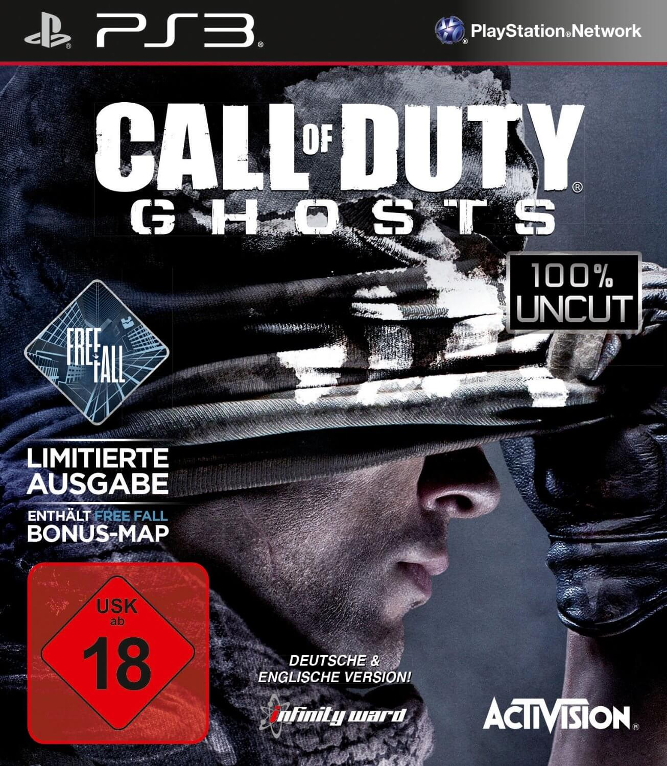 gamelover Call of Duty Ghosts Cover