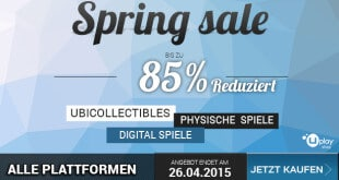 gamelover Ubisoft Spring Sale