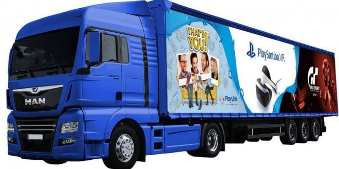 gamelover PlayStation Tour-Truck