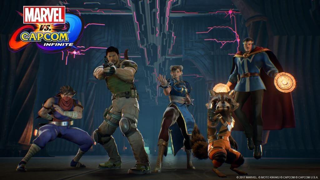 gamelover Marvel vs Capcom Infinite Screen 1